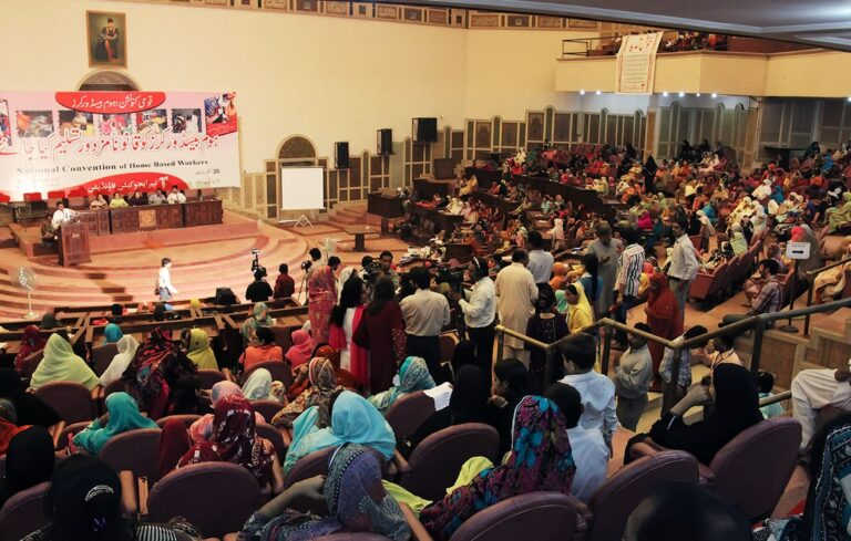 Pakistan Home-Based Worker Convention